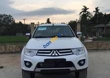 Bán Pajero Sport màu trắng, chạy dịch vụ hot nhất 2017, giá tốt nhất, chỉ trả trước 20% - LH: 0905.91.01.99