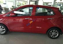Bán xe Hyundai Grand i10 1.0 AT năm 2018 màu đỏ, giá tốt nhập khẩu, hỗ trợ vay vốn 80% giá trị xe tại Hyundai Đắk Lắk