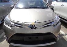 Bán ô tô Toyota Vios E 1.5AT đời 2017, màu nâu, 538tr