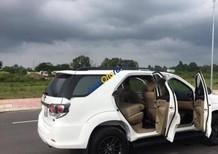 Bán xe Toyota Fortuner V đời 2015, màu trắng, giá 840tr