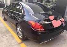 Cần bán Mercedes C200 đời 2016, màu đen