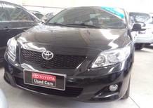 Xe Toyota Corolla altis 2.0V 2009, màu đen