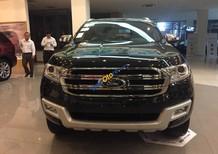 Ford Everest Titatium mầu đen, sản xuất 2017, giá Shock