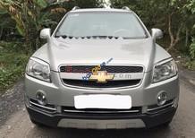 Cần bán lại xe Chevrolet Captiva Maxx MT 2009, màu bạc xe gia đình giá cạnh tranh