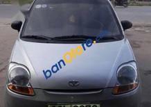Bán xe cũ Daewoo Matiz đời 2009, màu bạc gia đình mua từ mới sử dụng rất kỹ, xe còn rất mới