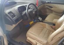 Bán xe Honda Civic 1.8 đời 2008, màu đen số tự động, giá chỉ 375 triệu