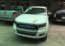 Bán ô tô Ford Ranger XLS 4x2 MT năm 2017, màu trắng, nhập khẩu