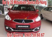 Cần bán xe Mitsubishi Mirage đời 2017, màu đỏ, tai Huế, Lh Quang 0905596067, giao xe ngay, xe đủ màu