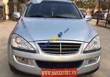 Bán Ssangyong Kyron đời 2009, màu bạc, nhập khẩu nguyên chiếc