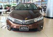 Cần bán xe Toyota Corolla altis 1.8G (CVT) năm 2018, màu nâu, giao xe ngay trong ngày, thủ tục nhanh gọn