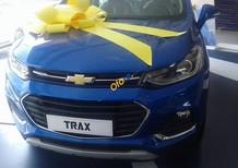 Cần bán xe Chevrolet Trax LT sản xuất năm 2017, màu xanh lam, nhập khẩu nguyên chiếc, 769tr