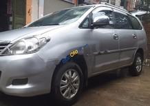 Cần bán gấp Toyota Innova G đời 2009, màu bạc chính chủ, giá 430tr