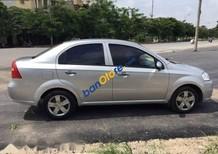 Bán Chevrolet Aveo đời 2011, màu bạc
