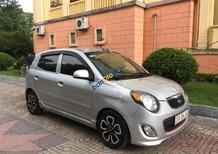 Bán xe Kia Morning SLX sản xuất 2010, màu bạc, nhập khẩu số tự động, 288tr