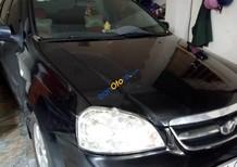 Bán xe Daewoo Lacetti EX đời 2009, màu đen số sàn, 250 triệu