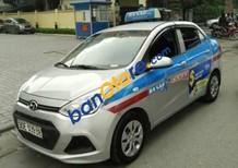 Bán Hyundai Grand i10 Taxi Ba Sao sản xuất 2016, màu bạc, 440 triệu