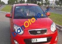 Cần bán xe Kia Morning AT sản xuất 2011, màu đỏ đã đi 50000 km