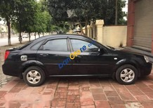 Bán xe Daewoo Lacetti 2010, màu đen, đã có ghế da, màn hình, camera lùi