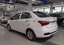 Cần bán Hyundai Grand i10 1.2AT  CKD đời 2017, màu trắng, giá chỉ 430 triệu