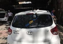 Cần bán Hyundai Grand i10 1.2AT 2015, màu trắng, nhập khẩu nguyên chiếc số tự động