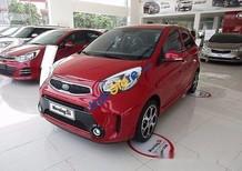 Bán xe Kia Morning SI MT sản xuất 2017, màu đỏ