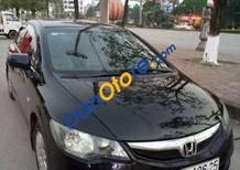 Cần bán gấp Honda Civic sản xuất năm 2009, màu đen đã đi 90000 km, giá 350tr