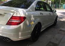 Cần bán lại xe Mercedes C350 AMG đời 2008, màu trắng, xe nhập xe gia đình