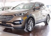 Cần bán Hyundai Santa Fe 2.4AT 2WD đời 2017, màu vàng