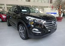 Bán Hyundai Tucson CKD 2018 màu đen, xe lắp ráp trong nước, hỗ trợ trả góp lên đến 85% - LH: 090.467.5566