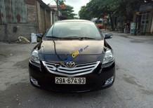Cần bán gấp Toyota Vios 1.5E 2010, màu đen, số tay, đã đi 7 vạn km