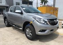 Cần bán xe Mazda BT 50 2.2MT 4WD năm 2017, màu bạc, nhập khẩu chính hãng