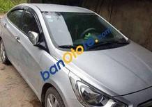 Bán Hyundai Accent MT sản xuất năm 2012, màu bạc số sàn, 420 triệu