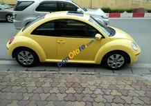 Bán Volkswagen New Beetle 2.5AT năm 2007, màu vàng, nhập khẩu