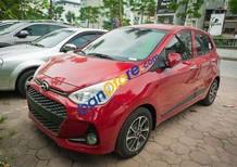 Hyundai Grand i10 1.0 AT sản xuất 2018 màu đỏ, giá chỉ 380 triệu, hỗ trợ vay vốn 80%. Hotline 0935904141 - 094894559