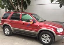 Bán xe Ford Escape XLT 3.0 AT đời 2004, màu đỏ