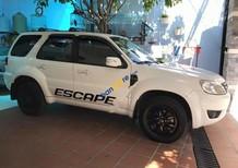 Bán Ford Escape XLS đời 2010, màu trắng, xe còn zin toàn bộ, bao test các kiểu