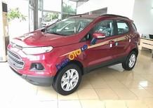 Cần bán Ford EcoSport Trend MT năm 2017, màu đỏ, 560tr