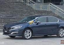 Peugeot Hải Phòng bán xe Pháp Peugeot 508 xanh, xe châu Âu nhập khẩu mới 100%