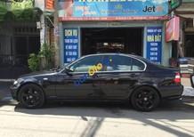 Bán BMW 325i đời 2004, màu đen, nhập khẩu, nội thất da zin còn căng đét