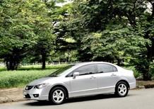 Bán Honda Civic máy 1.8 đời 2012 màu bạc cực đẹp