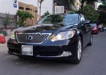 Bán Lexus LS 460L đời 2007, màu đen, giá tốt