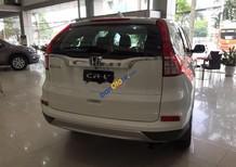 Bán Honda CR V 2.4TG đời 2017, màu trắng