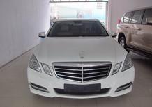 Xe Mercedes E250 2013, màu trắng , nhập khẩu , hỗ trợ trả góp