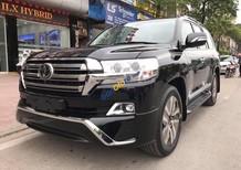 Bán xe Toyota Land Cruiser VXS 4.6 đời 2017, màu đen, xe nhập