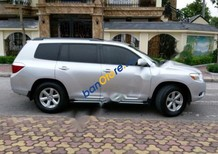 Bán ô tô Toyota Highlander 3.5AT đời 2008, màu bạc, xe nhập xe gia đình, giá 980tr