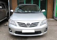 Cần bán Toyota Corolla altis đời 2012, màu bạc, số tự động, giá chỉ 580 triệu