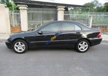 Bán Mercedes C240 đời 2004, màu đen số tự động