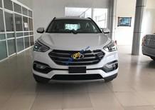 Bán xe Hyundai Santa Fe năm 2017, màu trắng