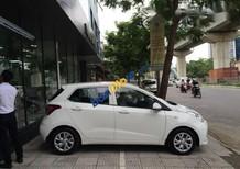 Bán Hyundai Grand i10 sản xuất 2017, màu trắng giá cạnh tranh