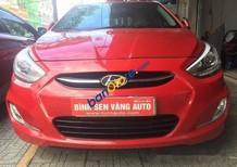 Bán xe cũ Hyundai Accent đời 2014, màu đỏ, xe còn tốt, nội ngoại thất đẹp